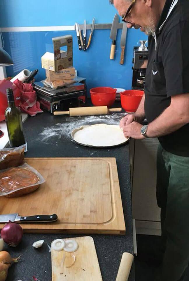 Branding neue Pizza AVANTI Speisekarte